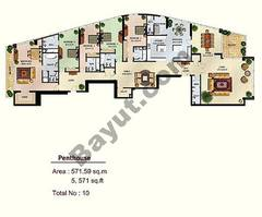 5 Bed Penthouse Apartment