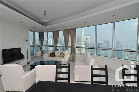 4 Bedroom Apartment for Rent in Dubai Marina, Dubai - Breathtaking views of the city's ever-evolving skyline.