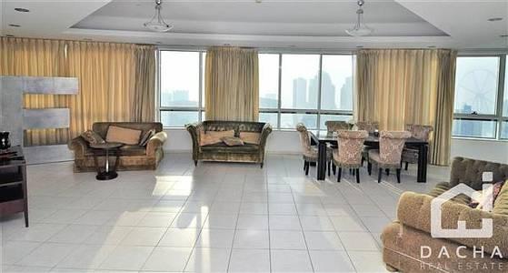 4 Bedroom Flat for Rent in Dubai Marina, Dubai - Dubai Eye trough your windows