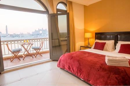 4 Bedroom Villa for Rent in Palm Jumeirah, Dubai - Luxuriously Furnished 4 BR Villa in Palm Jumeirah for Rent