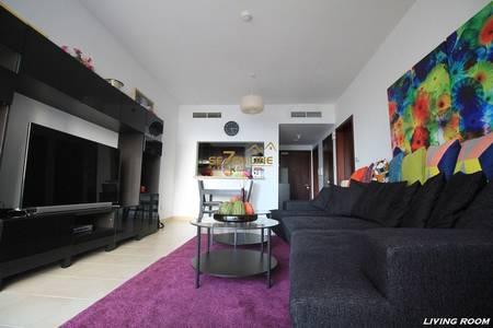 1 Bedroom Flat for Sale in Dubai Marina, Dubai - Unfurnished 1 Bedroom Apt. with Sea View