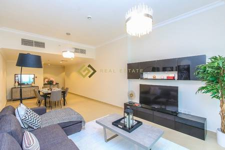 2 Bedroom Flat for Rent in Ajman Downtown, Ajman - Commission Free Sea View 2 Bedroom for Rent in Pearl Towers Ajman