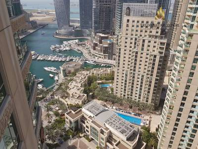 3 Bedroom Apartment for Rent in Dubai Marina, Dubai - Marina and Golf Course View 3+M in Mesk
