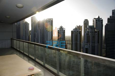 Excellent 2 bedroom|High floor| Vacant| Burj Khalifa view|