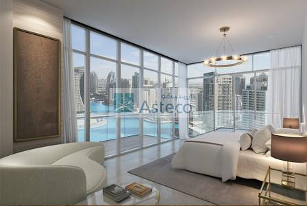 Studio for Sale in Dubai Marina, Dubai - Off-Plan Sea view Studio Apt. in LIV Residences