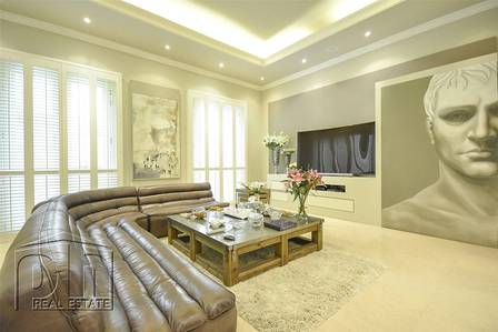 فیلا 6 غرفة نوم للبيع في تلال الإمارات، دبي - Custom built