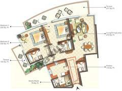 Condominium Type 0-4_2 Bedroom