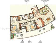 Condominium Type 0-6B_2 Bedroom