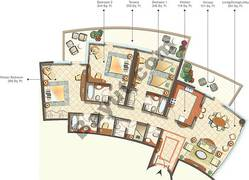 Condominium Type 0-1B_3 Bedroom
