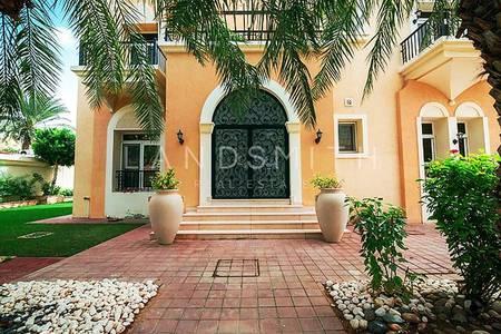 6 Bedroom Villa for Sale in Emirates Hills, Dubai - Upgraded Al Hambra Style Villa Emirates Hills