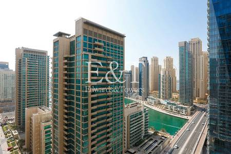 2 Bedroom Apartment for Rent in Dubai Marina, Dubai - Fully furnished / Vacant 9th December / amazing marina view