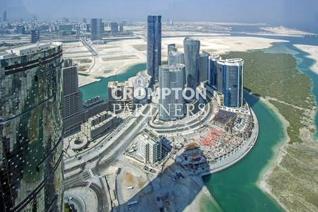 5 Bedroom Penthouse for Rent in Al Reem Island, Abu Dhabi - 4+1+M. Fabulous Finishings. Available Now.