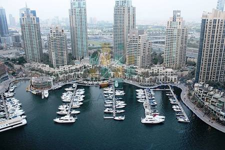 2 Bedroom Flat for Rent in Dubai Marina, Dubai - Full Marina & Panoramic pool view - Furnished 2BR for rent