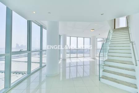 4 Bedroom Apartment for Rent in Dubai Festival City, Dubai - Amazing Penthouse   Massive  Great views