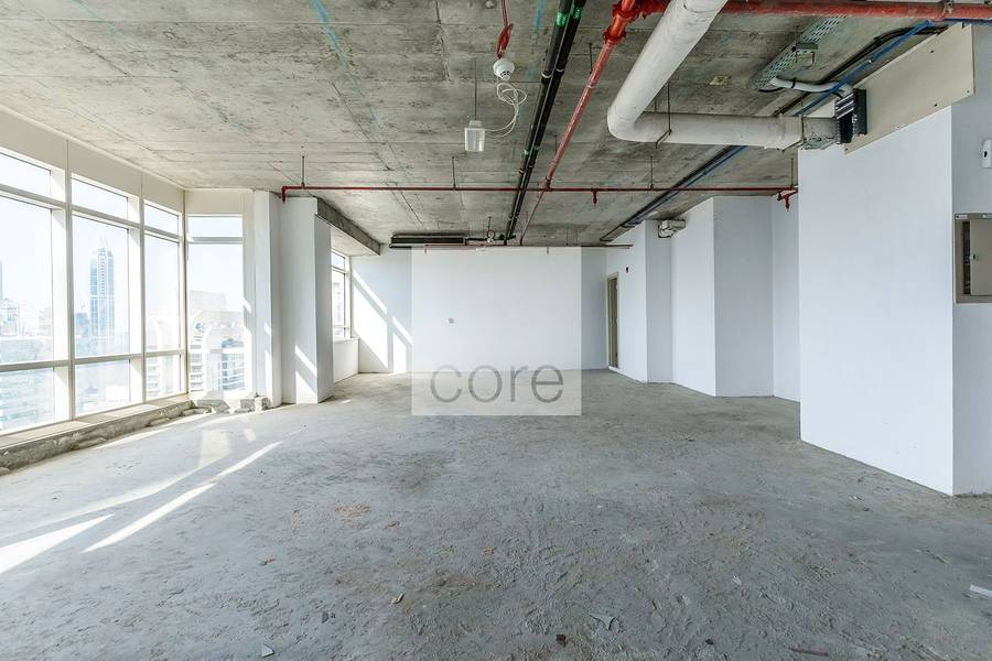 High floor shell and core in Liwa Heights
