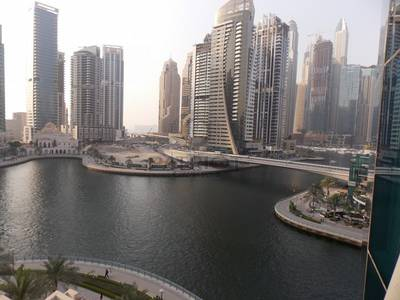 2 Bedroom Apartment for Sale in Dubai Marina, Dubai - Full Marina view 2BR unit in Time place Tower