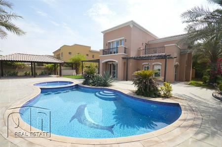 5 Bedroom Villa for Sale in Arabian Ranches, Dubai - Outstanding Golf Course Location-Vacant!