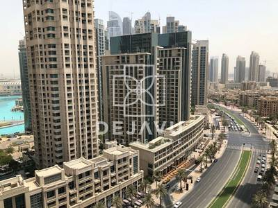 2 Bedroom Flat for Rent in Downtown Dubai, Dubai - Largest 2 + Study in Downtown for Rent.