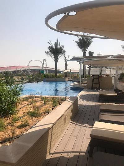 Pool view 2-BR apartment in Ansam!!