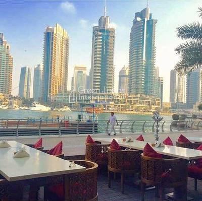 Shop for Sale in Dubai Marina, Dubai - Restaurant on Marina walk   amazing location