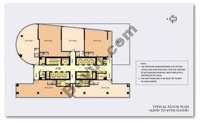 Typical Floor Plan (42-45)