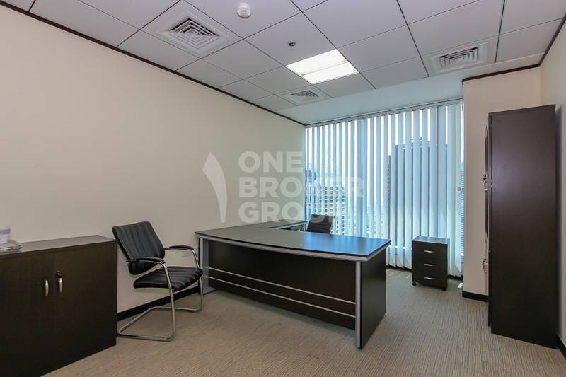 2 Furnished and Fitted Office Space in JLT