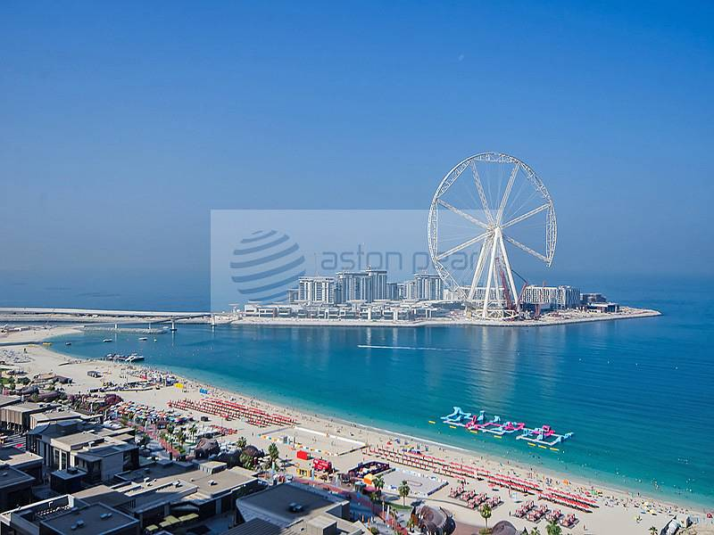 1 3BR+M | Front Line Sea / Dubai Eye Views