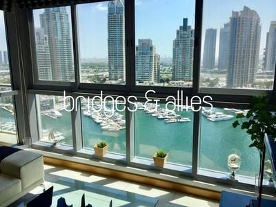2 Bedroom Flat for Rent in Dubai Marina, Dubai - Amazing view | Fresh and clean apartment