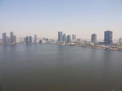 Office for Rent in Corniche Al Buhaira, Sharjah - Full sea view luxurious fully fitted office size 2745, 4036 & 8073 sqft in Buheira Cornish, Sharjah