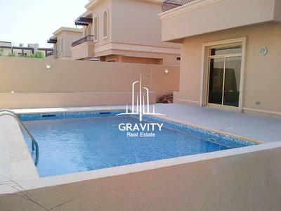 4 Bedroom Villa for Rent in Al Raha Golf Gardens, Abu Dhabi - Hot Deal! Spacious 4BR Villa w/ pool  private garden