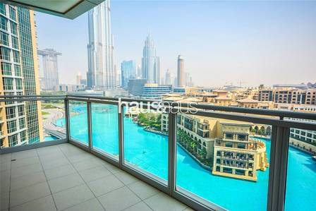 3 Bedroom Apartment for Rent in Downtown Dubai, Dubai - Amazing View | Huge Layout | Chiller Inc