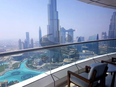 1 Bedroom Apartment for Sale in Downtown Dubai, Dubai - 03 Layout / Above 49th Floor / Superior 1BR