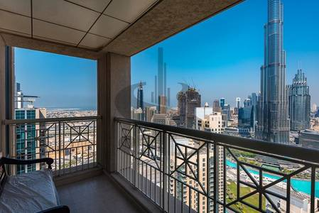 2 Bedroom Flat for Sale in Downtown Dubai, Dubai - STUNNING FULL BURJ AND FOUNTAIN VIEW 2BR