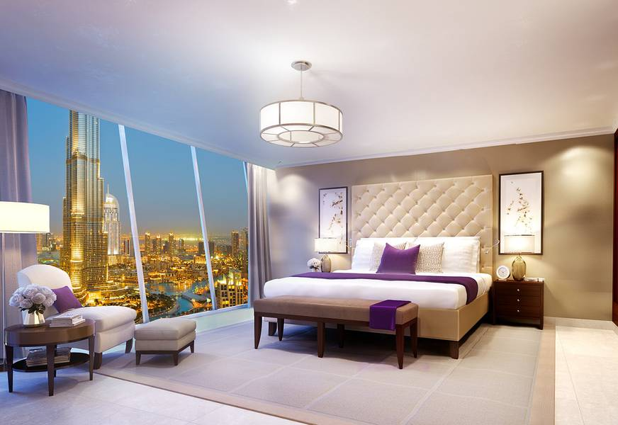 2 Burj Khalifa Facing 3 Bedroom plus Maids