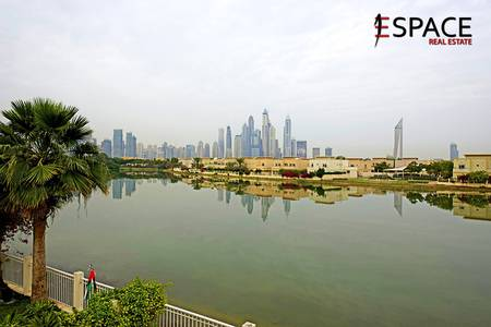 3 Bedroom Villa for Sale in The Lakes, Dubai - Type E - Stunning Lake and Skyline Views