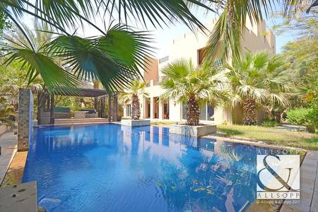 7 Bedroom Villa for Sale in Arabian Ranches, Dubai - Vacant | Private Pool | Extended Kitchen