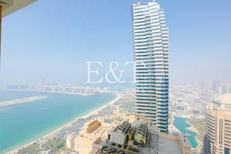 2 Bedroom Apartment for Rent in Dubai Marina, Dubai - Full Sea Views I 2 Bedroom I High Floor