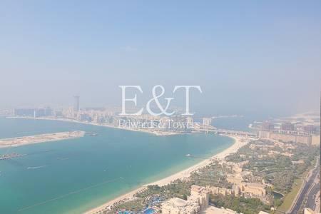 2 Bedroom Flat for Rent in Dubai Marina, Dubai - Partial Sea Views I 2 Bedroom I High Floor