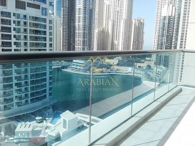 2 Bedroom Flat for Rent in Dubai Marina, Dubai - Close to Metro 2 Beds Full Marina View in Mid Floor