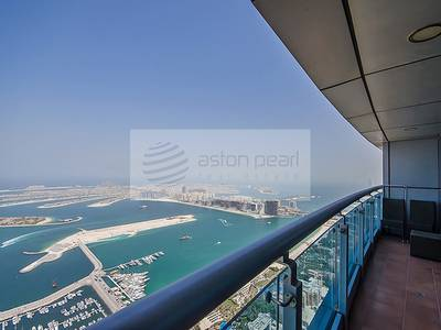 3 Bedroom Flat for Sale in Dubai Marina, Dubai - 3 BR+Maid's Duplex with Amazing Sea View