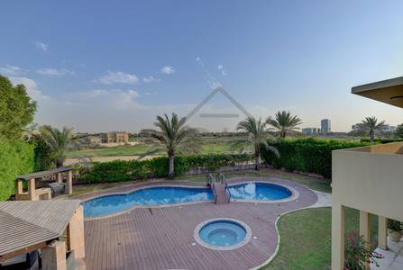 5 Bedroom Villa for Sale in Arabian Ranches, Dubai - Beautiful 5BR  Huge Plot  Golf Course View