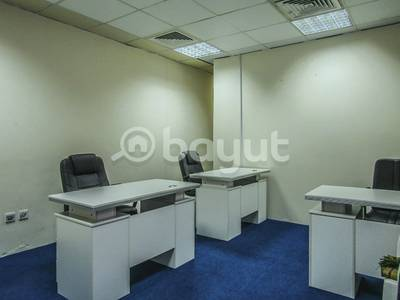 Office for Rent in Al Karama, Dubai - Newly Fitted Office in Garhoud | Oud Metha | Bur Dubai | Abu Hail | Airport Road