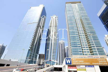 Office for Rent in Jumeirah Lake Towers (JLT), Dubai - Excellent Fitted Office with Balcony JLT