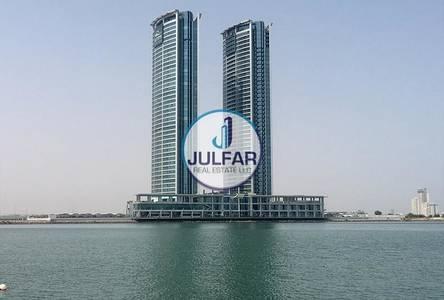 Office for Sale in Dafan Al Nakheel, Ras Al Khaimah - Sea View Office For Sale In Julphar Tower