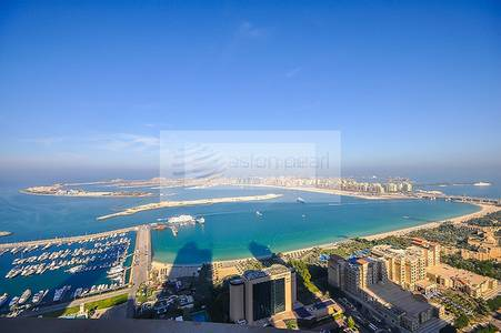 3 Bedroom Apartment for Rent in Dubai Marina, Dubai - Full Sea View