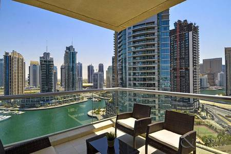 2 Bedroom Apartment for Rent in Dubai Marina, Dubai - Full Marina View | 2 Bedroom | Furnished