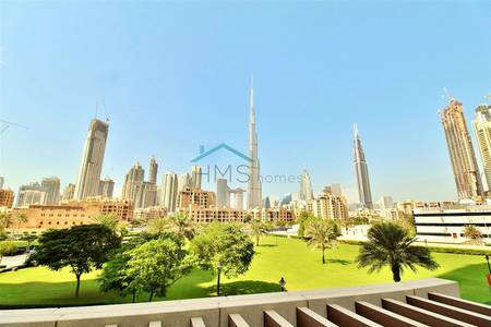 3 Bedroom Villa for Sale in Downtown Dubai, Dubai - South Ridge Villa | Vacant now | Burj View
