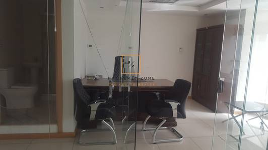 Office for Rent in Jumeirah Lake Towers (JLT), Dubai - Furnished/Fitted Office/ Glass Partition