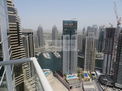 2 Bedroom Apartment for Sale in Dubai Marina, Dubai - 2 BR   Vacant   High Floor   Marina View