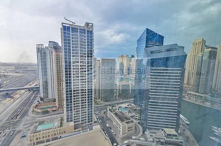 Office for Rent in Dubai Marina, Dubai - Shell and Core Full Marina View   Vacant